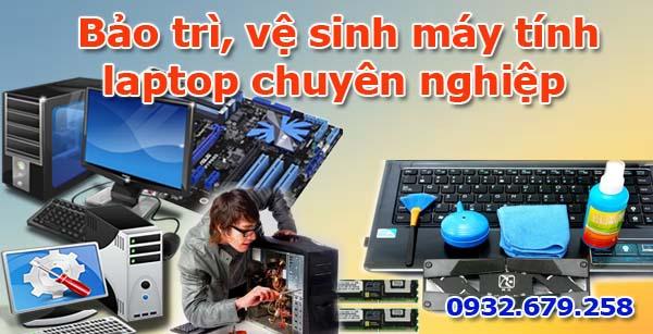 Dịch vụ bảo trì, vệ sinh máy tính, laptop giá rẻ tphcm