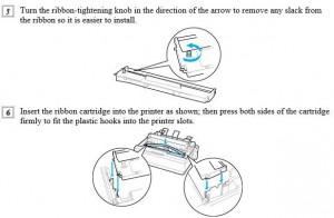 hướng dẫn thây rubang máy in kim epson