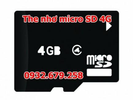 The nho micro sd 4g gia re nhat tphcm
