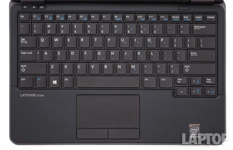 Bàn phím và touchpad laptop dell latitude E7240