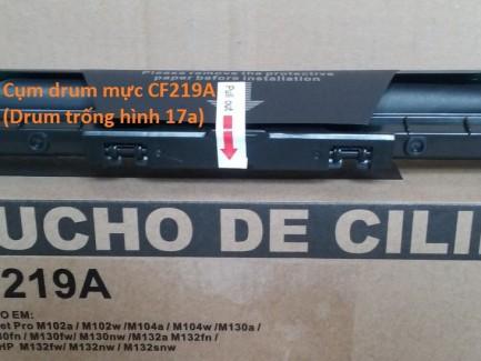 Cum drum mực CF219A dùng cho máy in HP M102/M130