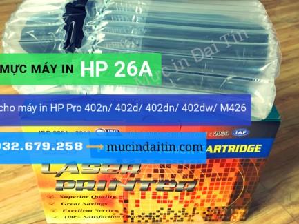Hộp mực 26A dùng cho máy in HP 402/ 402d/ 402dw/M426