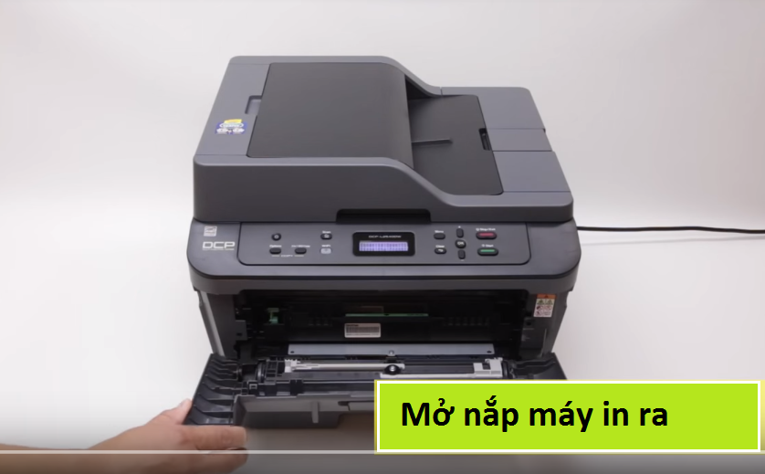 Cach reset toner máy in brother dcp l2520d/2520dw