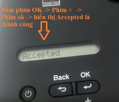 Cách reset máy in brother l2340dw 2360dn 2366dw lỗi replace toner