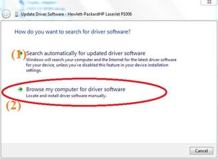 Cách cài máy in không hổ trợ driver win 7 8 10 bằng update driver