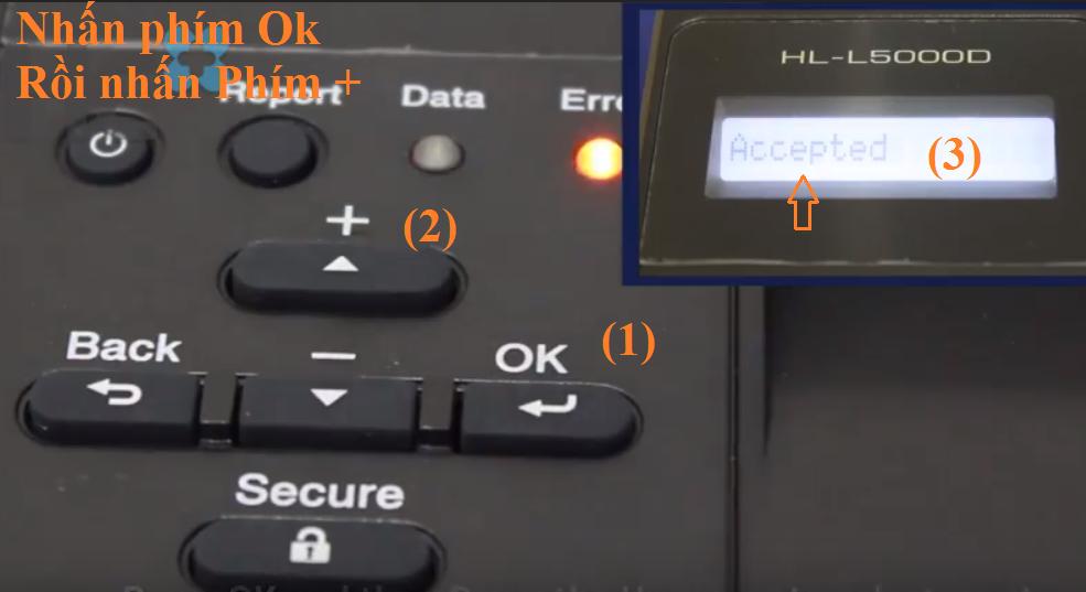 Cách sửa lỗi replace drum brother HL L5100/ 5200/ 5500/ 5600/ 5650/ 5700/ 5800/ 5850/ 5900